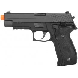 WE Tech Full Metal F226 Series MK25 Gas Blowback GBB Airsoft Pistol - BLACK