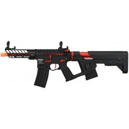 Lancer Tactical Enforcer NEEDLETAIL Skeleton AEG [LOW FPS] - BLACK + RED