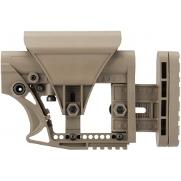 G-Force Adjustable Stock for Carbine Airsoft Rifles - TAN