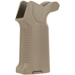 G-Force Vertical M4 Polymer Pistol Grip for Airsoft Rifles - TAN