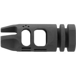 Lancer Tactical Hybrid Airsoft Flash Hider Muzzle Brake Compensator [14mm CCW]