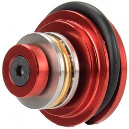 Lancer Tactical Reinforced CNC Aluminum Piston Head w/ Ball Bearings - RED