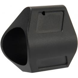 Lancer Tactical Full Metal Low Profile Airsoft Gas Block - BLACK