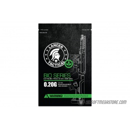 Lancer Tactical 0.20g Biodegradable BBs Bag (4000 Rounds) - WHITE