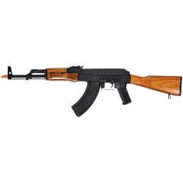 Lancer Tactical AKM Full Metal Airsoft AEG Rifle - REAL WOOD