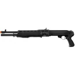 Tokyo Marui SPAS 12 Pump Action Airsoft Shotgun - BLACK