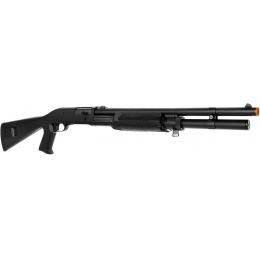 Tokyo Marui Super 90 Full Size Pump Action Airsoft Shotgun - BLACK