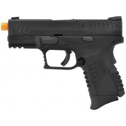 WE Tech DM 3.8 Compact Gas Blowback Airsoft Pistol - BLACK