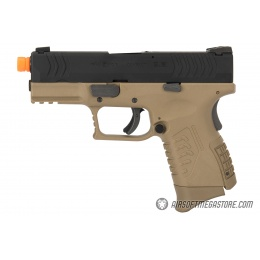 WE Tech X-Tactical 3.8 Compact Gas Blowback Airsoft Pistol - TAN