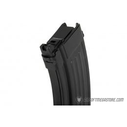 GHK 40rd Metal AK Gas Magazine for Airsoft Rifles- BLACK