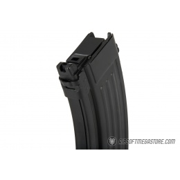 GHK 40rd Metal AK CO2 Magazine for Airsoft Rifles - BLACK