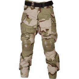 Lancer Tactical Combat Tactical Uniform Set - TRI DESERT-Large