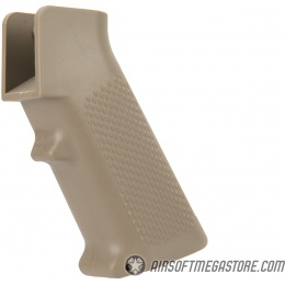 DBoys Polymer M4 Pistol Grip for AEG Airsoft Rifles - TAN