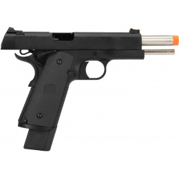 Army Armament Full Metal R26 1911 Gas Blowback Airsoft Pistol - BLACK