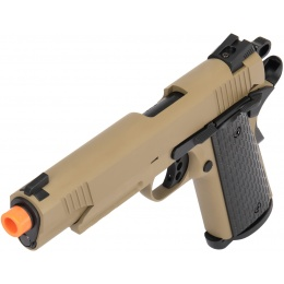 Army Armament Full Metal R28 1911 Desert Warrior GBB Airsoft Pistol - TAN