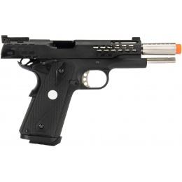 Army Armament Full Metal R30 1911 Gas Blowback Airsoft Pistol - BLACK