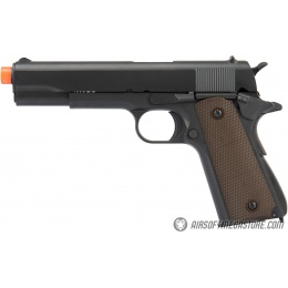Army Armament Full Metal R31 1911 Gas Blowback Airsoft Pistol w/ Black Barrel - BLACK