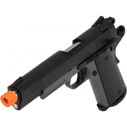 Army Armament Full Metal R28 1911 Gas Blowback Airsoft Pistol - BLACK