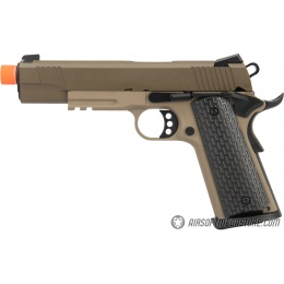 Army Armament Full Metal R28 1911 Gas Blowback Airsoft Pistol - TAN