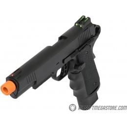 Army Armament Full Metal R32 Gas Blowback Airsoft Pistol - BLACK
