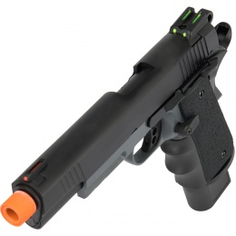 Army Armament Full Metal R32 Gas Blowback Airsoft Pistol - DARKSTORM