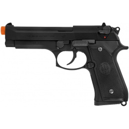 Tokyo Marui M92F Military Airsoft Gas Blowback Pistol - BLACK