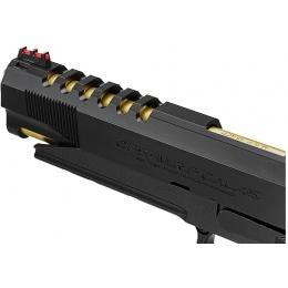 Tokyo Marui Hi-Capa 5.1 Gold Match Custom Gas Blowback Airsoft Pistol - BLACK/GOLD
