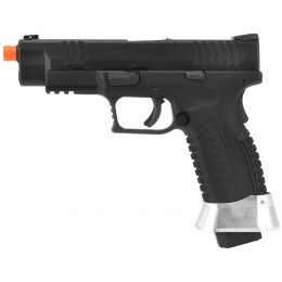 WE Tech X-Tactical 3.8 Compact Gas Blowback Airsoft Pistol - BLACK