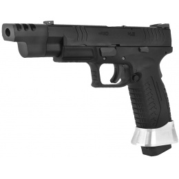 WE Tech X-Tactical 3.8 Compact Gas Blowback Airsoft Pistol - BLACK