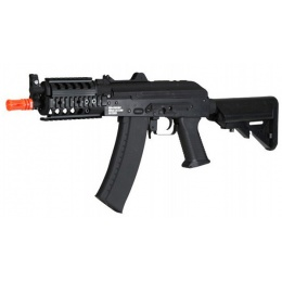 Echo1 RedStar BOLT AKS-74U CQB RIS Full Metal Airsoft AEG Rifle - BLACK