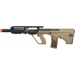 Army Armament AUG A3 Polymer Carbine Length Airsoft AEG Rifle - TAN