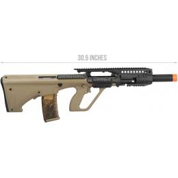 Army Armament AUG A3 Polymer Carbine Length Airsoft AEG Rifle - TAN