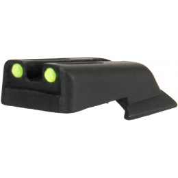 Army Armament Fiber Optic Rear Sight for 1911 Airsoft Pistols - YELLOW