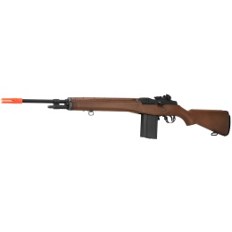 WE Tech Full Metal M14 Gas Blowback Airsoft Sniper Rifle - IMITATION WOOD