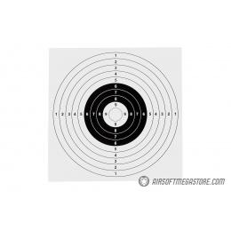 Lancer Tactical Cardboard Bullseye Airsoft Targets