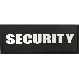 G-Force Security PVC Morale Patch - BLACK