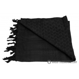 Lancer Tactical Multi-Purpose Shemagh Face Head Wrap - BLACK