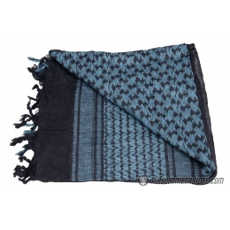 Lancer Tactical Multi-Purpose Shemagh Face Head Wrap - NAVY / BLUE