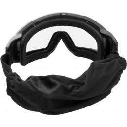 Lancer Tactical Rage Protective Black Airsoft Goggles - SMOKE/YELLOW/CLEAR LENS