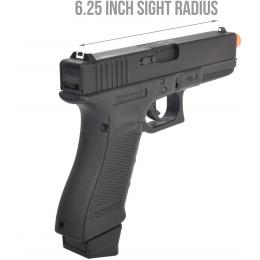 Elite Force Licensed Gen 4 Glock 17 CO2 Blowback Airsoft Pistol by VFC