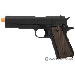 WE Tech Original 1911 Design Gen. 2 Full Metal Gas Blowback Airsoft Pistol - BLACK
