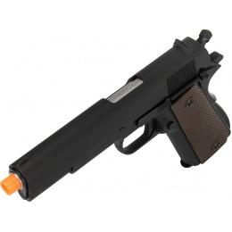 WE Tech Original 1911 Design Gen. 2 Full Metal Gas Blowback Airsoft Pistol - BLACK