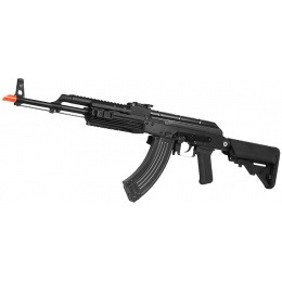 WE Tech Full Metal AK74 Spec. Op Gas Blowback Airsoft Rifle - BLACK