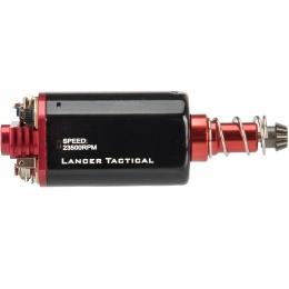Lancer Tactical Long Type High Speed AEG Motor Version 2 [23,500 RPM] - RED/BLACK