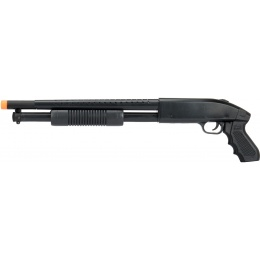 UKARMS P388 Spring Pump Action Airsoft Shotgun - BLACK