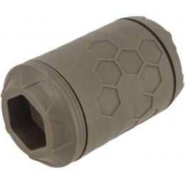 Z-Parts ERAZ Rotative 100BBs Green Gas Airsoft Grenade (Color: OD Green)