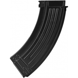 E&L Airsoft AK47 120 Round Mid-Cap Metal Magazine - Pack of 5 - BLACK
