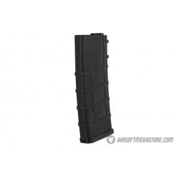 Lonex 30rd Low Capacity M4 AEG Polymer Airsoft Magazine [Pack of 6] - BLACK
