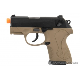 WE Tech Bulldog Compact Full Metal Gas Blowback Airsoft Pistol - TAN