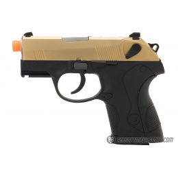WE Tech Small Dog Full Metal Gas Blowback Airsoft Pistol - TITANIUM GOLD